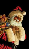 WP182 - Santa Claus Window Poster