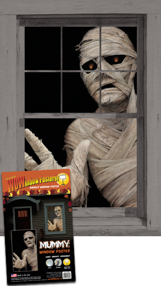 WP1390 Mummy Window Poster