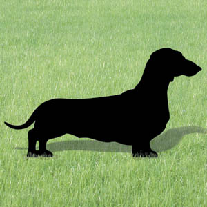 1011 dachshund shadow pattern for Yard shadow patterns