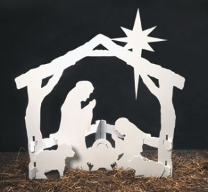 CYD-72 - Silent Night Nativity Scene