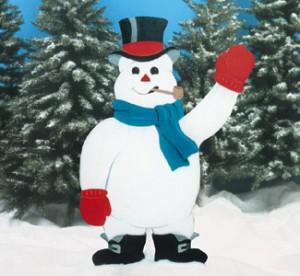 CYD44 - Giant Snowman Pattern
