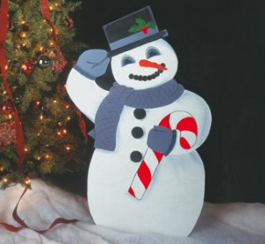 CYD-7 -Jolly Snowman Pattern