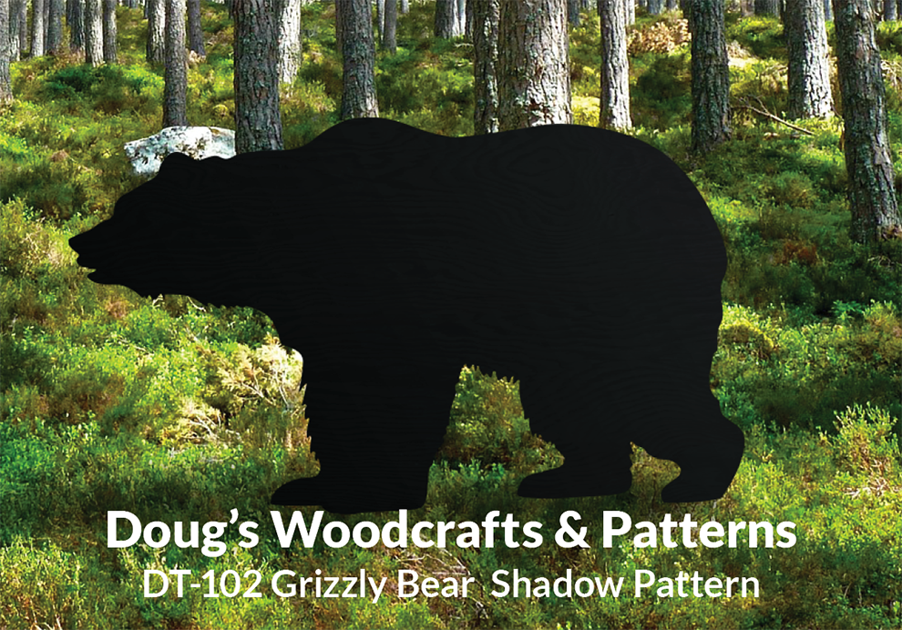 DT-102  Grizzly Bear Shadow Pattern