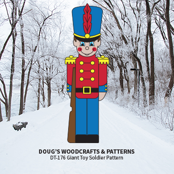 DT-178 Small Toy Soldier pattern