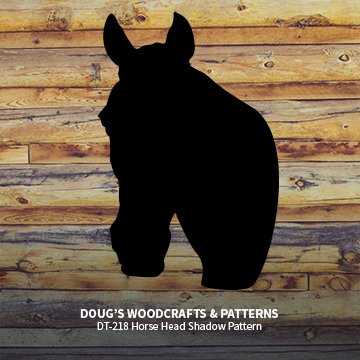 DT-218  Horse Head Shadow Pattern