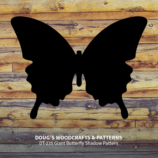 DT-235 Giant Butterfly Shadow Pattern