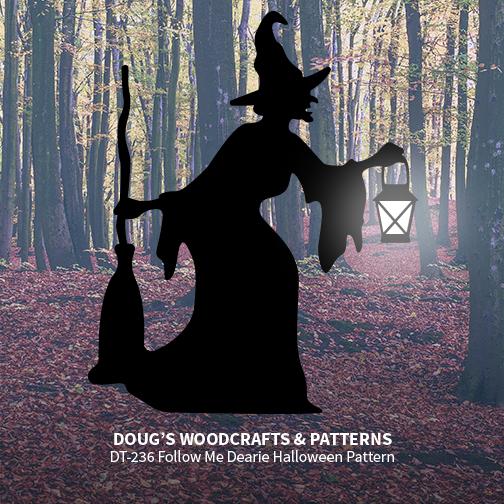 DT-236 Follow Me Dearie Halloween Pattern