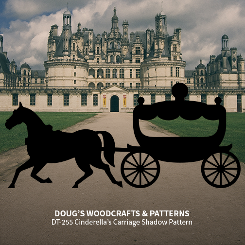 DT-255 Cinderella's Carriage Shadow Pattern