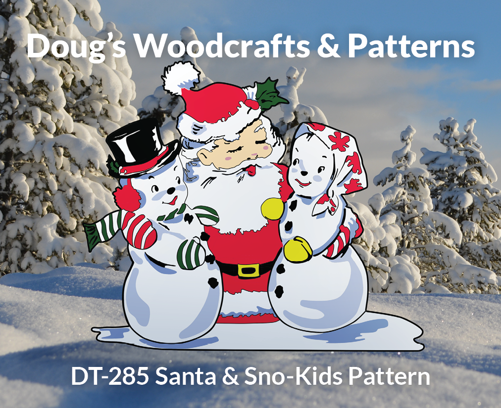 DT-285 Santa & Sno-Kids Pattern