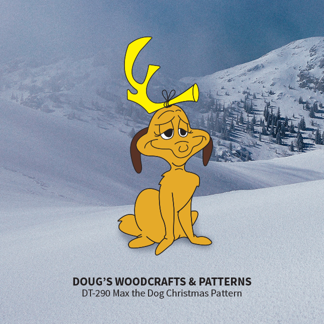 DT-290 Max The Dog Christmas Pattern