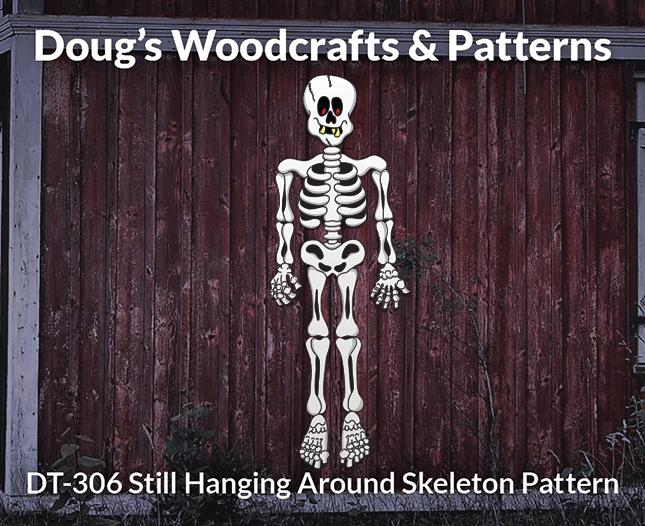 DT-306 Still Hanging Around SkeletonPattern