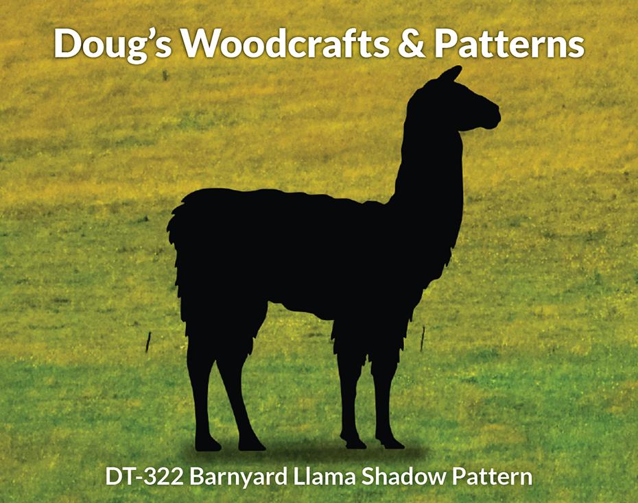 DT-322 Llama Shadow Pattern
