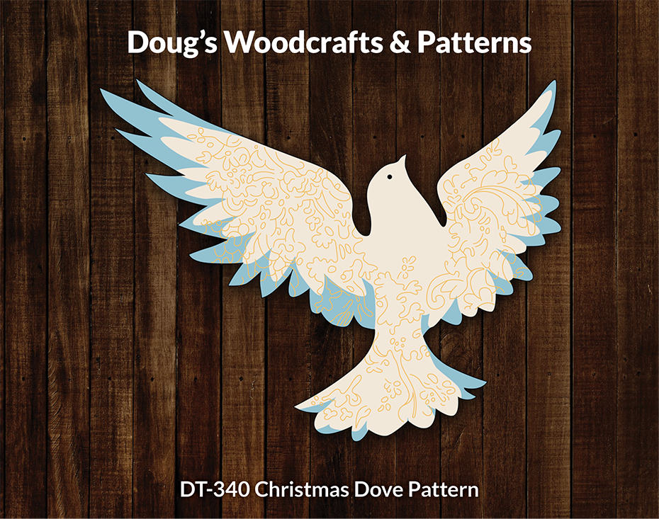 DT-340 Christmas Dove Pattern