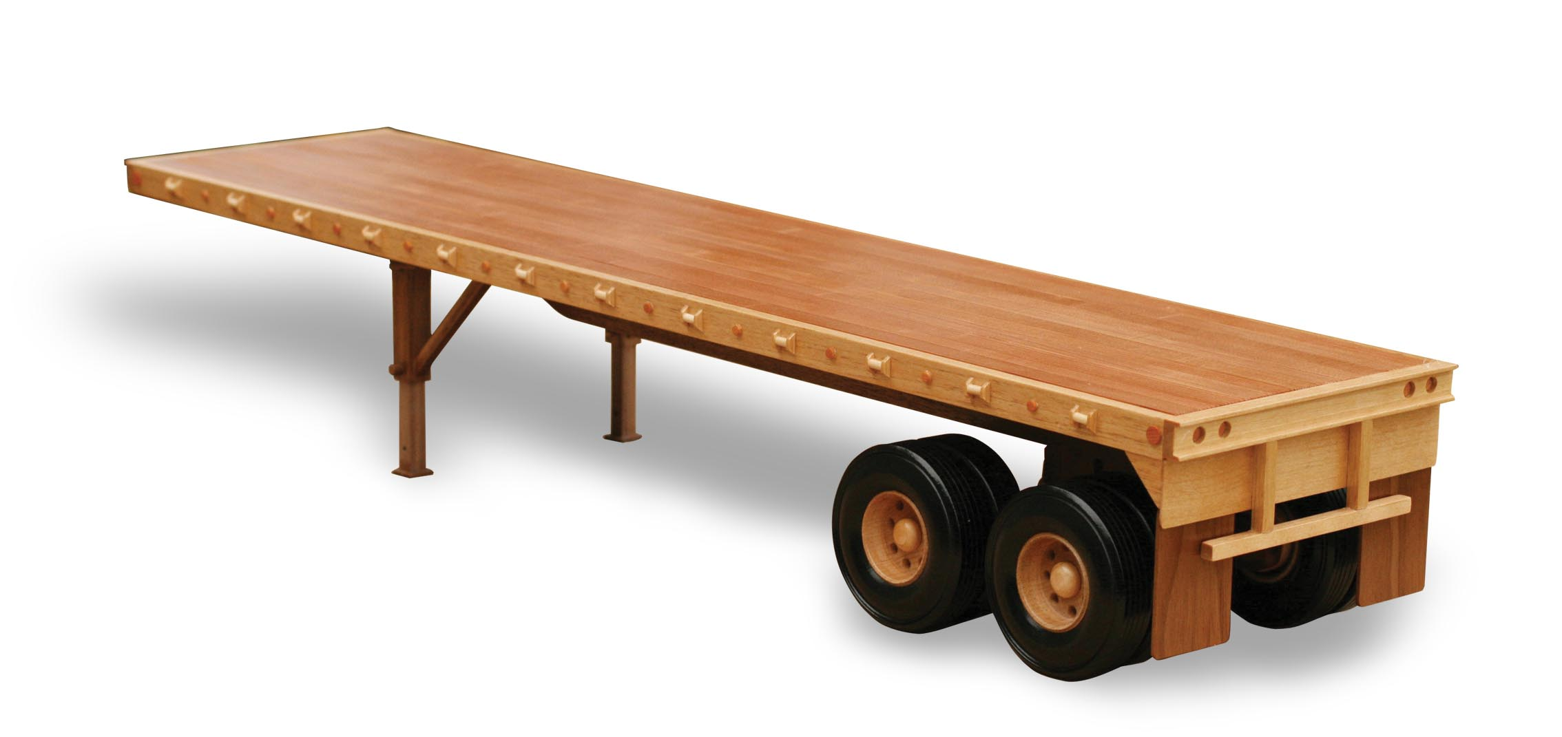TJ109 - Flat Bed Trailer Pattern & Parts Kit.