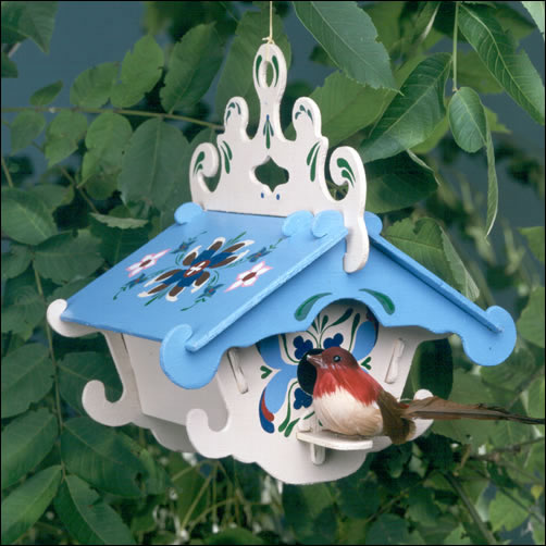 BH6901 - The Lodge Birdhouse Kit