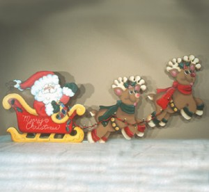 CH115 - Santa's Sleigh Ride Pattern