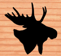 SH-148 - Giant Moose Head Shadow Pattern