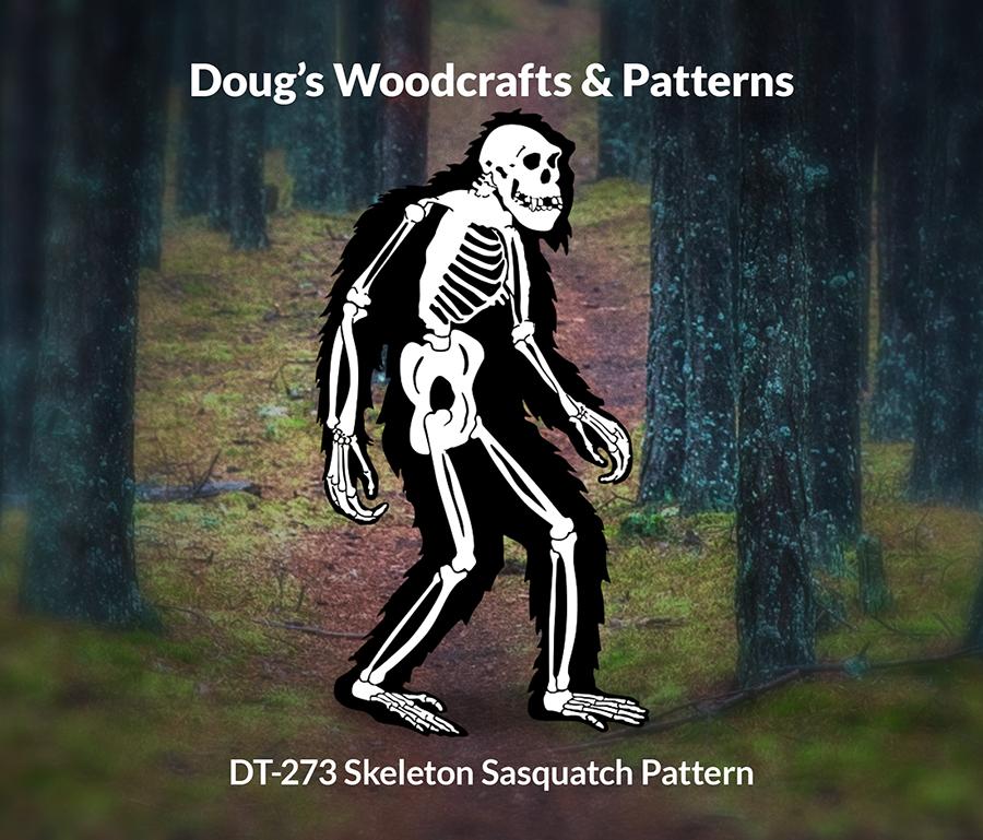DT-273 Skeleton Sasquatch Pattern