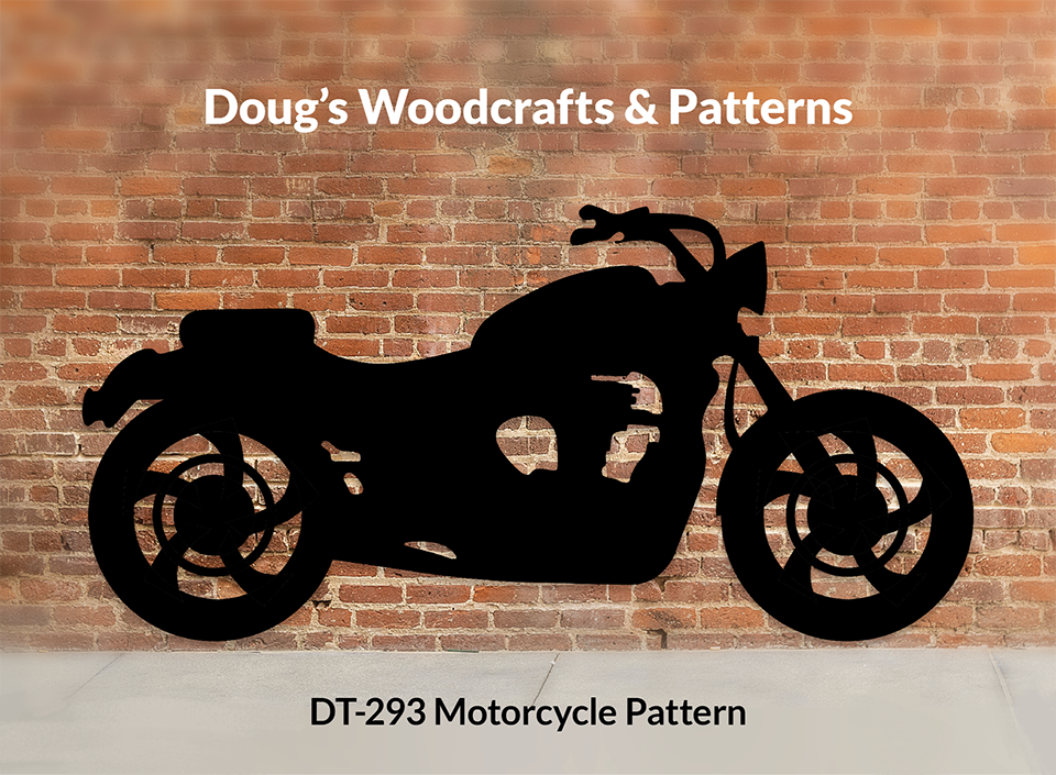 DT-293 Motorcycle Shadow Pattern