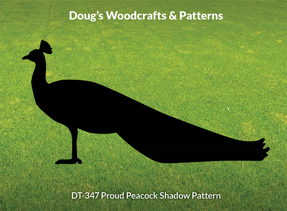 DT-347 Proud Peacock Shadow Pattern