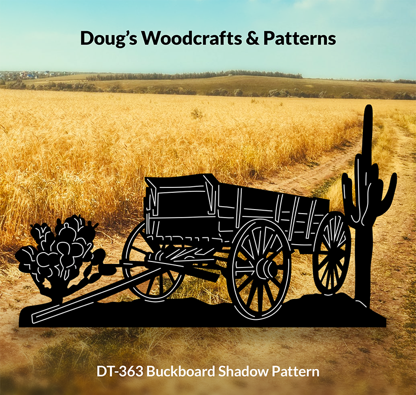 DT-363 Buckboard Shadow Pattern