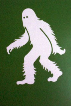 DT-279 Ghostly White Sasquatch Pattern